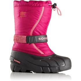 Sorel Flurry Boots Barn deep blush/tropic pink